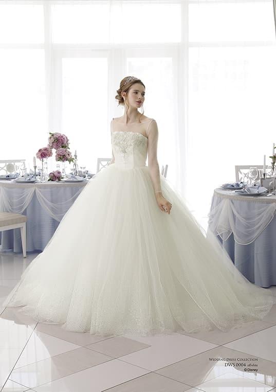 ディズニー ウェディングドレスコレクション ドレス
